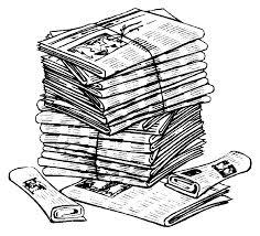Výsledek obrázku pro sběr papíru